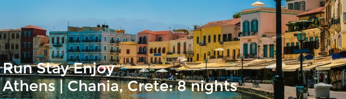 Chania on island of Crete Athens 8nights