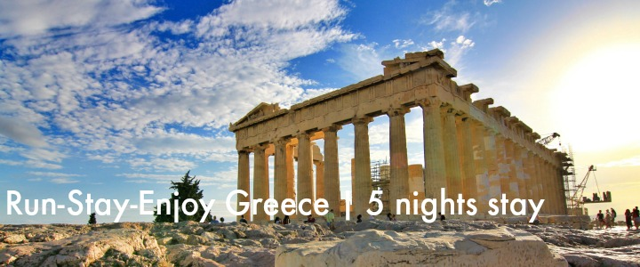 Run Stay Enjoy Greece