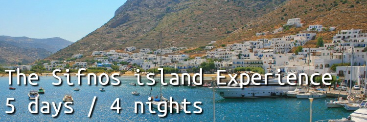 Sifnos Run 4nights